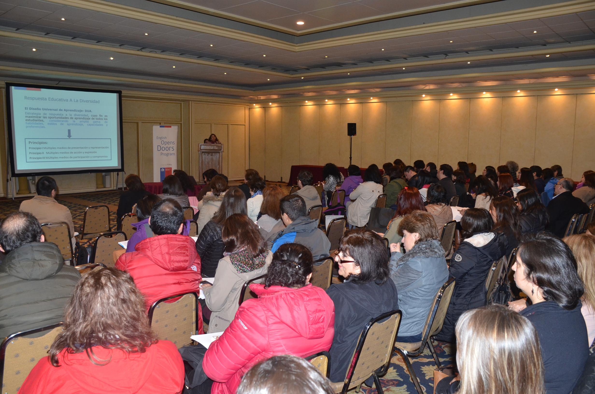 Docentes de los r os participaron de segunda jornada de for Docentes en el exterior 2016