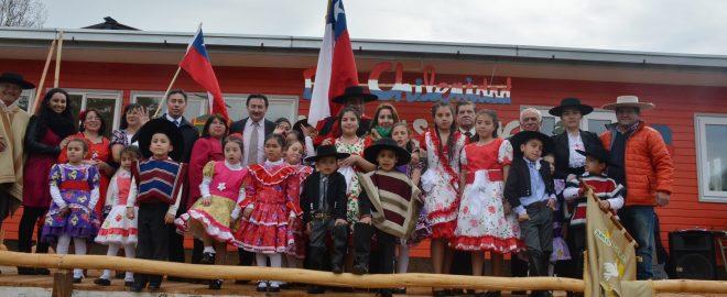 •Establecimiento igualmente festejó sus 50 años de vida y dio inicio a los festejos de fiestas patrias con desfile escolar