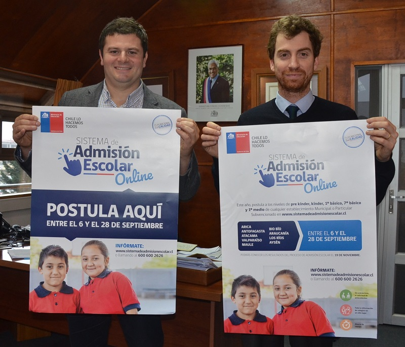 Admision Escolar: Los Ríos Se Incorpora Este Año Al Nuevo Sistema De